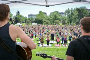 Yoga Rocks the Park 2014
